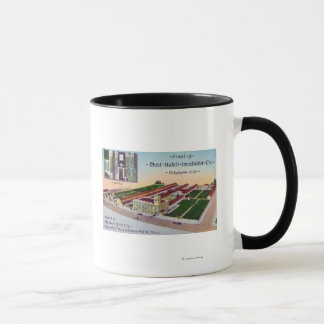 Aerial View of the Must-Hatch Incubator Co Bldg Mug