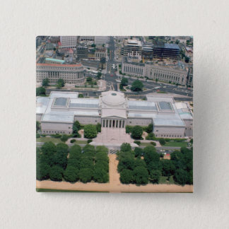 Aerial view of the National Gallery of Art Pinback Button
