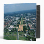Aerial view of the National Mall 3 Ring Binder