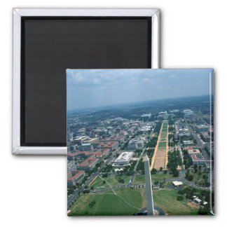 Aerial view of the National Mall Magnet