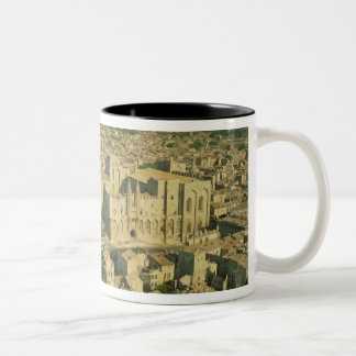 Aerial view of the Palace Two-Tone Coffee Mug