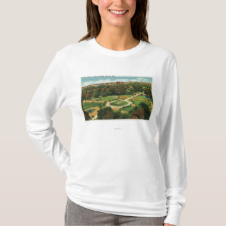 Aerial View of the Public Gardens # 2 T-Shirt