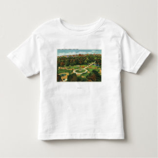 Aerial View of the Public Gardens # 2 Toddler T-shirt