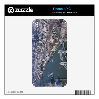 Aerial View of the River Thames Decal For iPhone 4
