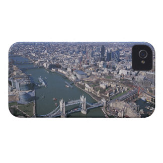 Aerial View of the River Thames iPhone 4 Cover