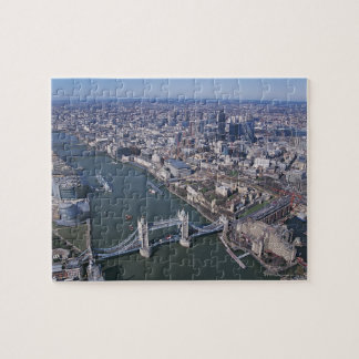 Aerial View of the River Thames Jigsaw Puzzle