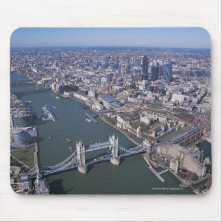 Aerial View of the River Thames Mouse Pad
