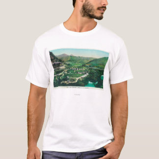 Aerial View of the SpringsLava Hot Springs, ID T-Shirt