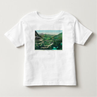 Aerial View of the SpringsLava Hot Springs, ID Toddler T-shirt