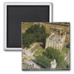 Aerial view of the Tower of London, England, U.K. Refrigerator Magnets