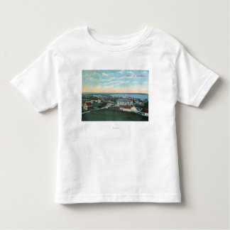 Aerial View of the Town 2 Toddler T-shirt