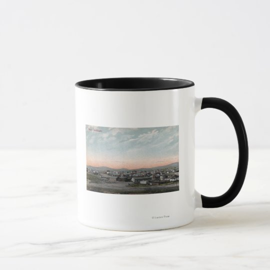 Aerial View of the Town 4 Mug