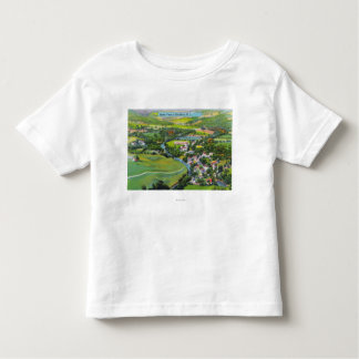 Aerial View of the Town Toddler T-shirt