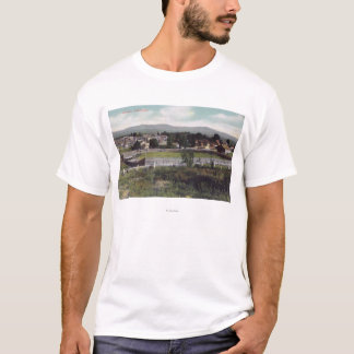 Aerial View of the TownAlturas, CA T-Shirt