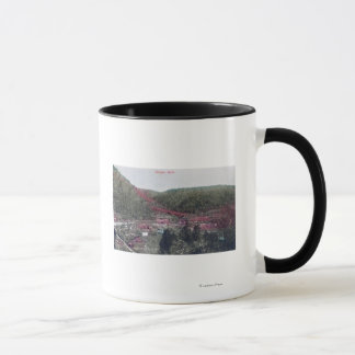 Aerial View of the TownColoma, CA Mug