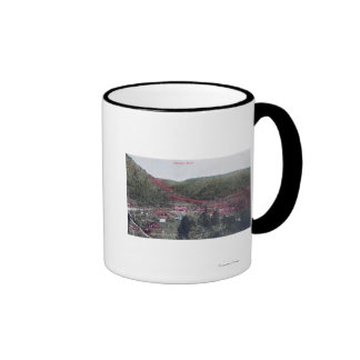 Aerial View of the TownColoma, CA Ringer Coffee Mug