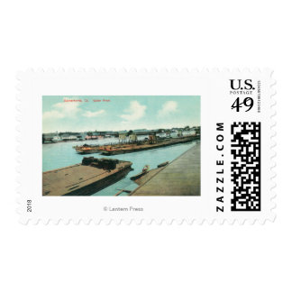 Aerial View of the Waterfront Stamps