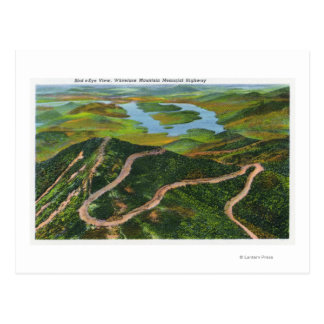Aerial View of the Whiteface Mt Memorial Hwy Postcard