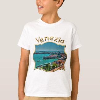 Aerial View of Venice, Italy T-Shirt
