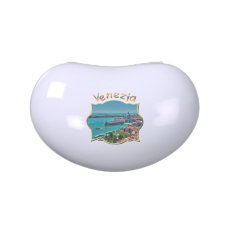 Aerial View of Venice Jelly Belly Tin