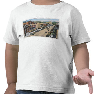 Aerial View of Wenatchee Avenue Tee Shirts