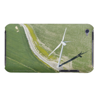 Aerial View of Wind Turbine in Field near Jerez iPod Touch Case-Mate Case