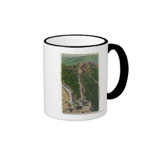 Aerial View of Winding Trail, Castle, Summit Mugs