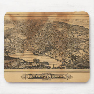 Aerial View of Woburn Massachusetts (1883) Mouse Pad