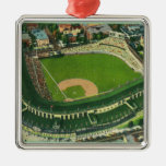 Aerial View of Wrigley Field # 2Chicago, IL Ornaments