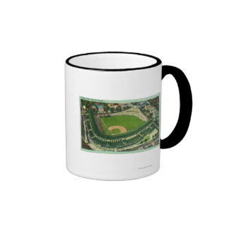 Aerial View of Wrigley Field # 2Chicago, IL Ringer Mug