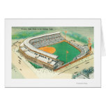 Aerial View of Wrigley Field # 3Chicago, IL Greeting Card