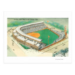 Aerial View of Wrigley Field # 3Chicago, IL Postcard