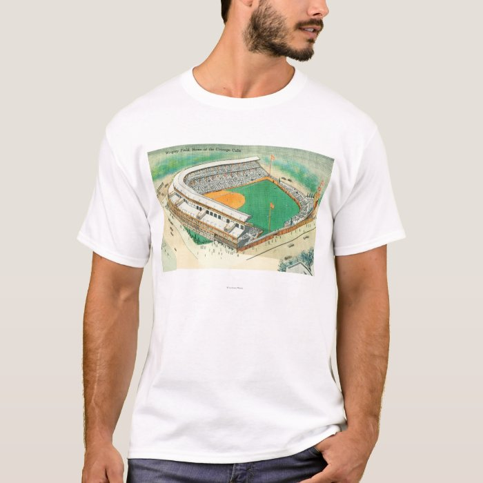 Aerial View of Wrigley Field # 3Chicago, IL T-Shirt