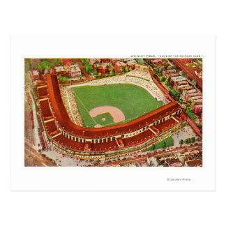 Aerial View of Wrigley FieldChicago, IL Postcard