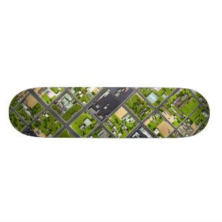 Aerial View - Skateboard Deck