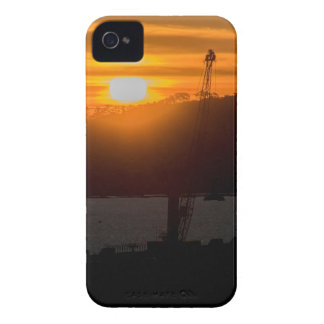 Aerial View Sunset Scene of Montevideo Uruguay iPhone 4 Cover