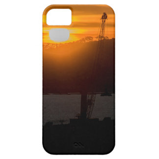 Aerial View Sunset Scene of Montevideo Uruguay iPhone SE/5/5s Case