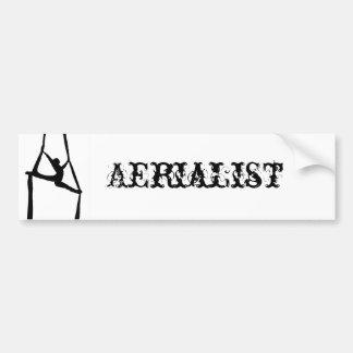 Aerialist Bumper Sticker