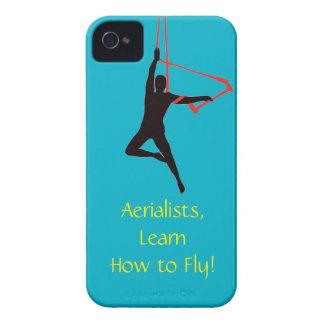 Aerialists del oscilación del trapecio Case-Mate iPhone 4 protectores