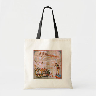 Aerialists Supreme Vintage Theater Budget Tote Bag