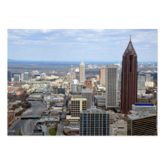 Aerical View of Atlanta Georgia Large Business Cards (Pack Of 100)