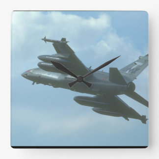 Aeritalia/Embraer/Aermacchi_Aviation Photography Square Wall Clock