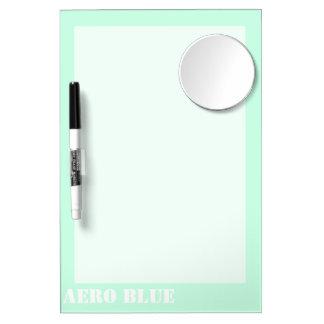 Aero- azul pizarras blancas de calidad
