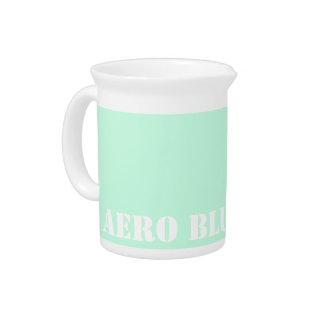 Aero blue drink pitcher