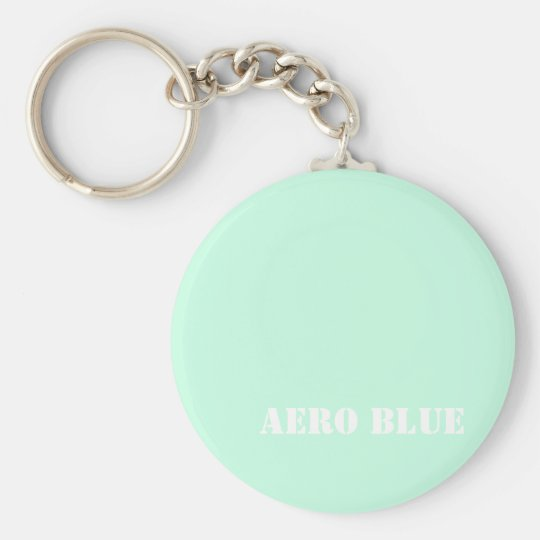Aero blue keychain