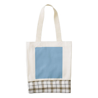 Aero Blue Star Dust Zazzle HEART Tote Bag
