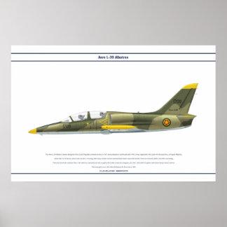 Aero L-39 Ethiopia Poster