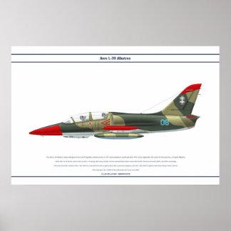 Aero L-39 Lithuania 1 Poster