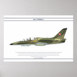 Aero L-39 Slovakia Poster
