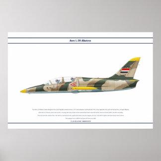 Aero L-39 Syria Poster